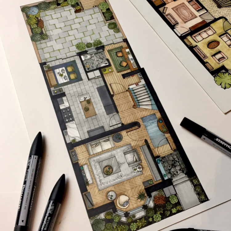 01-Floor-Plan-Malcolm-Begg-Interior-Design-Drawings-of-a-Victorian-House-www-designstack-co