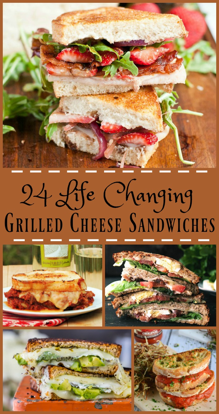 24 Life Changing Grilled Cheese Sandwiches from www.bobbiskozykitchen.com