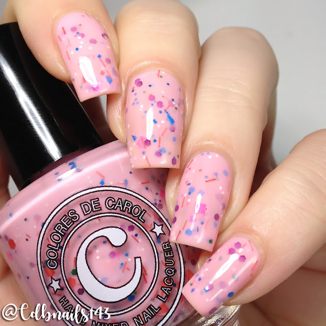 Colores De Carol-Cotton Candy Dip