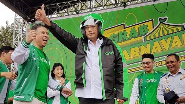 Permintaan Menhub Supaya Ojek Grab Promosikan Jokowi Dipersoalkan