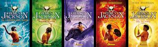 Resultado de imagen de percy jackson libros