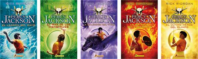 Resultado de imagen para percy jackson libros