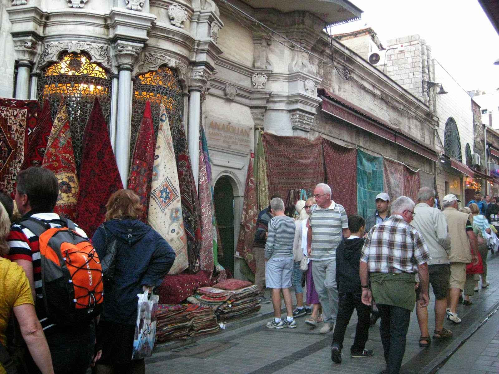 Istanbul - Market just outside the Grand Bazaar