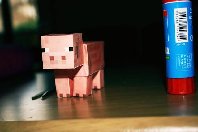 minecraft papel