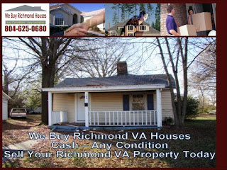 We Buy Richmond VA Houses Cash No Repairs