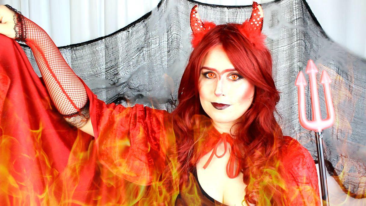 Rain Bows And Fairytales Teufel Halloween Tutorial