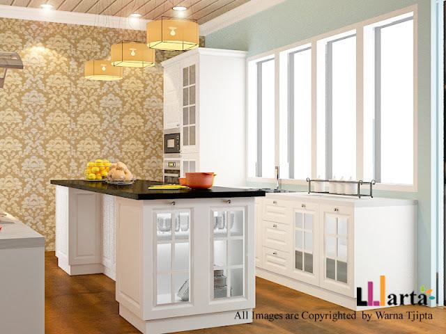 american style kitchen set