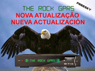 Atualizacao do receptor Freesky The Rock V