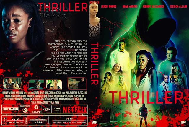 Thriller DVD Cover