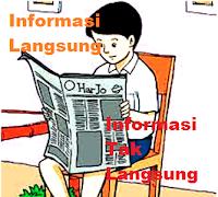 Pengertian Informasi Langsung dan Tidak Langsung