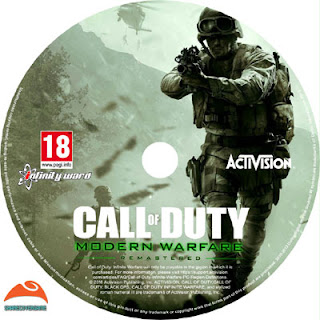 Call of Duty Modern Warfare Remastered Disc Label