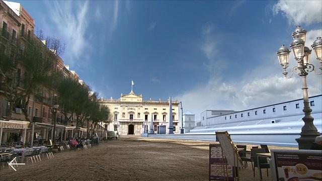 Plaça de la Font i arena del circ