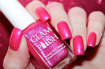 """Swatch of the nail polish """"Princess Parking Only"""" from Glam Polish"""