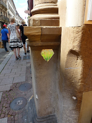 Smaragd - Edelstein in Strassburg