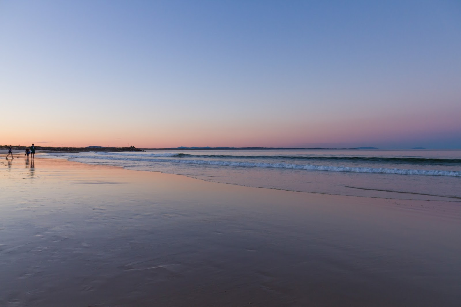 Forster Beach Sunset