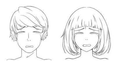 Personnages qui pleurent beaucoup