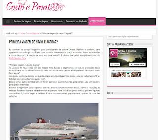 blog Gosto e Pronto