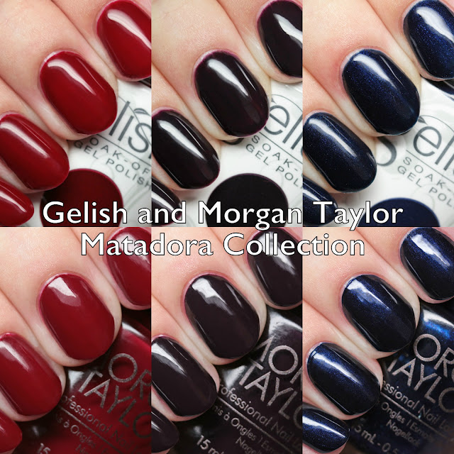 Gelish and Morgan Taylor Matadora Collection