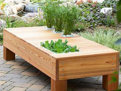 โต๊ะนั่งเล่นในสวน 2