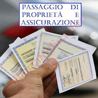 passaggio di proprietà e assicurazione per auto o moto usata