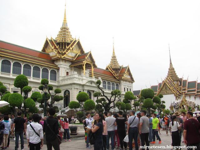 Большой Дворец, Бангкок - Тронный зал