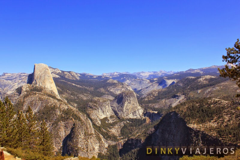 Vistas del Half Dome desde Glacier Point