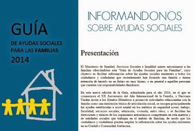 Guias de Ayudas Sociales-Familiares vigentes
