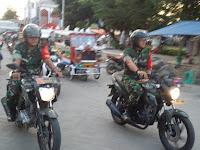 Amankan Wilayah, Kodim Brebes Gelar Patroli Gabungan