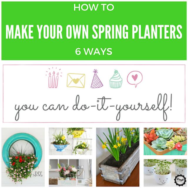 6 DIY Spring Planters