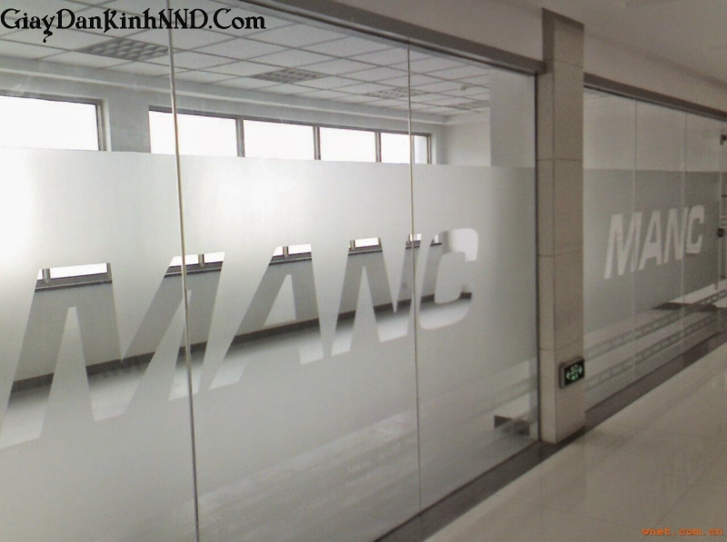 Công ty giấy dán kính