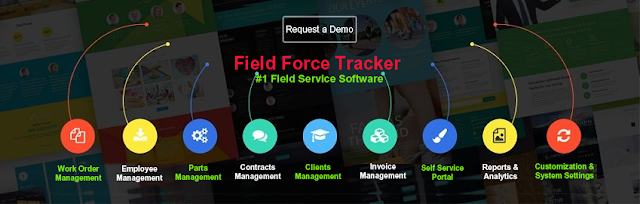 Field Service Management Software Dispatch Field Force Tracker - Field service invoicing software