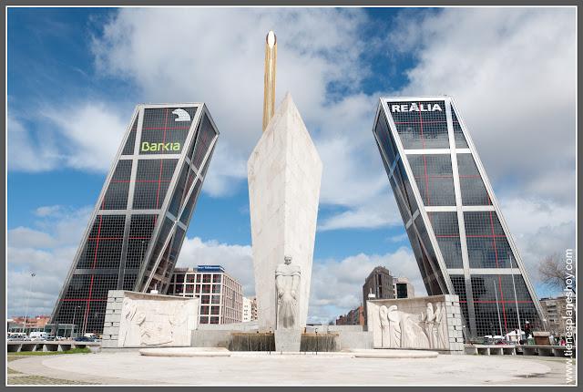 Plaza de Castilla - Puerta de Europa Madrid