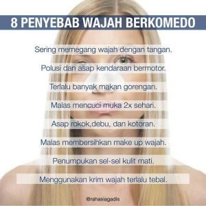 8 penyebab komedo
