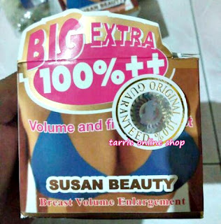 Dr Susan BPOM Extra Breast Cream
