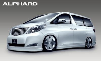 Toyota Alphard  premium MPV