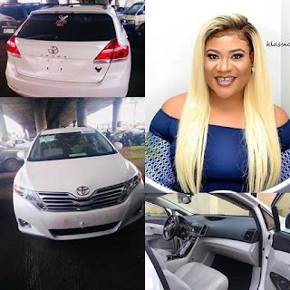 Nollywood Actress Nkechi Blessing Purchases A Brand New Car