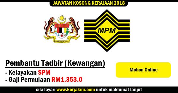 jawatan kosong 2018 majlis peperiksaan malaysia