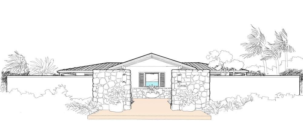 Mcm Design Minimum Island House Plan