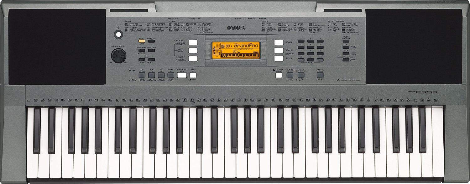 Latest Yamaha Keyboard Price List India