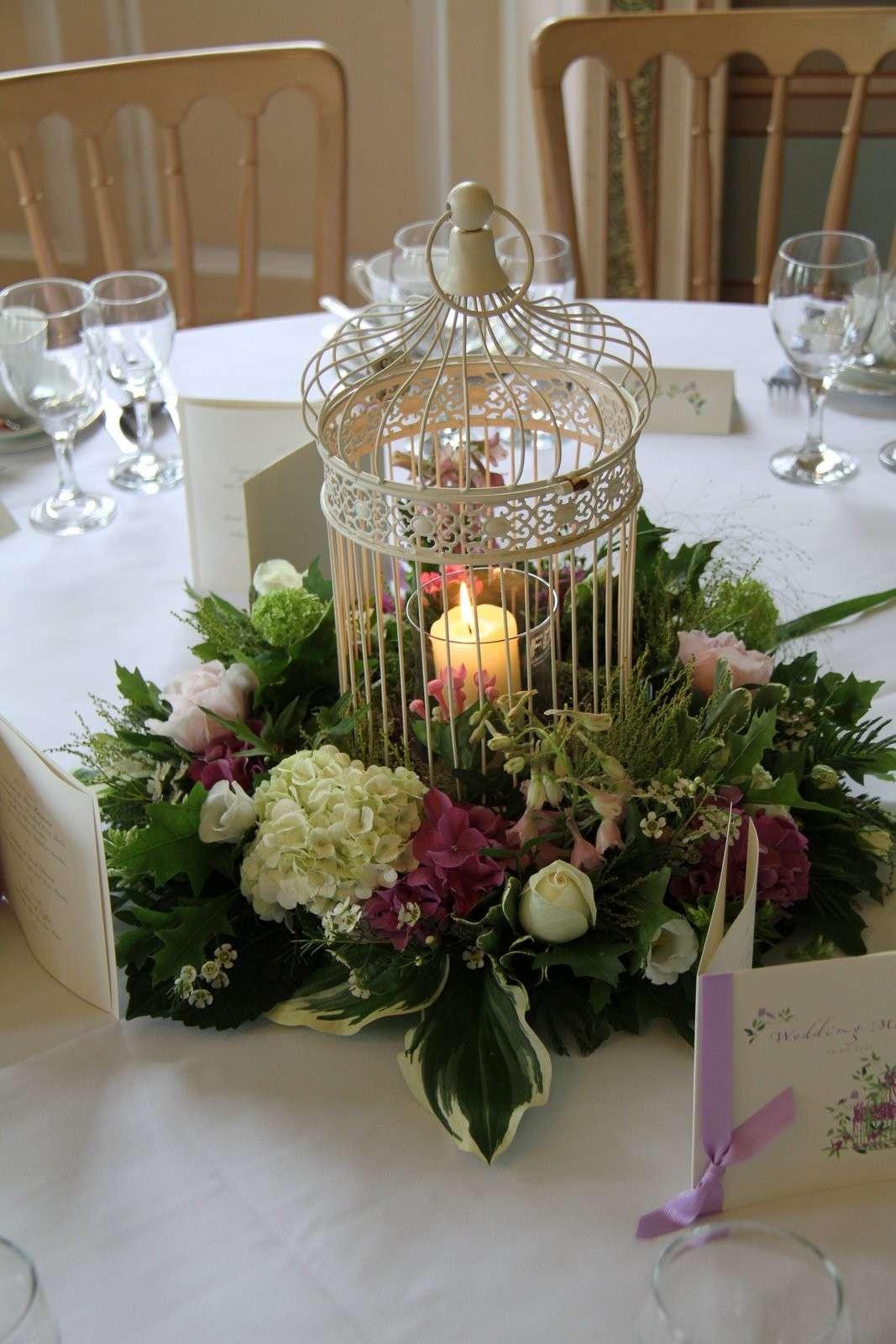 Fabuleux Arredamento I Love Shabby Chic: Gabbiette con fiori e candele per  KO58