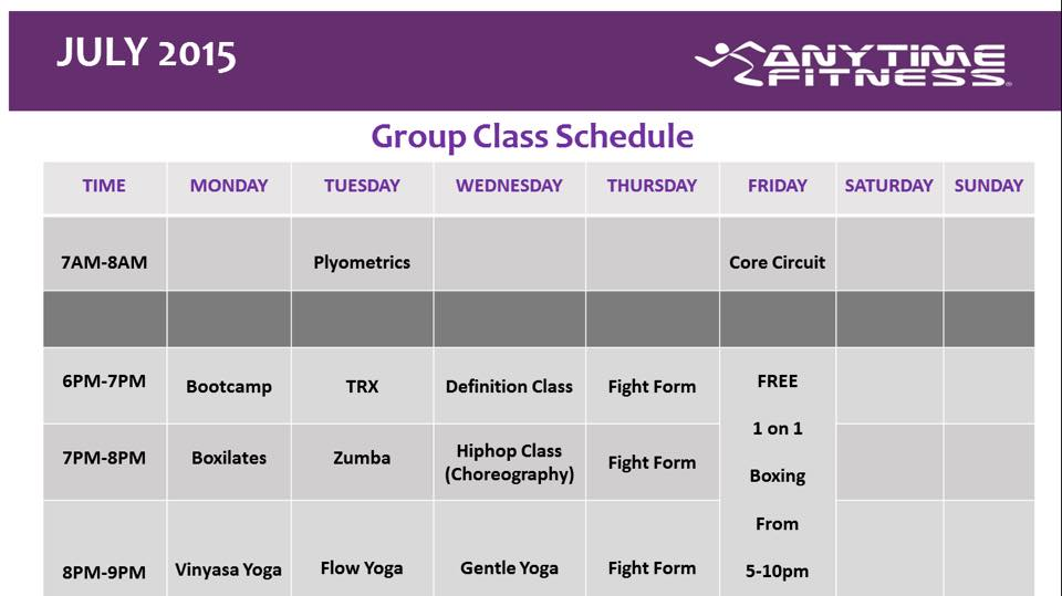 Anytime Fitness Prices - Gym Membership Fees