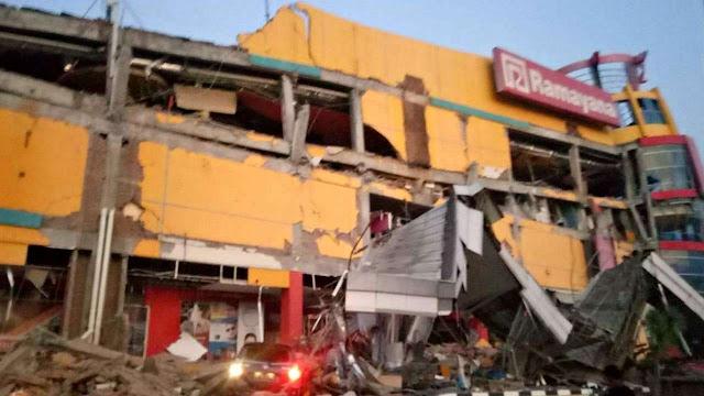 Gempa Di Palu Indonesia Mengakibatkan Tsunami