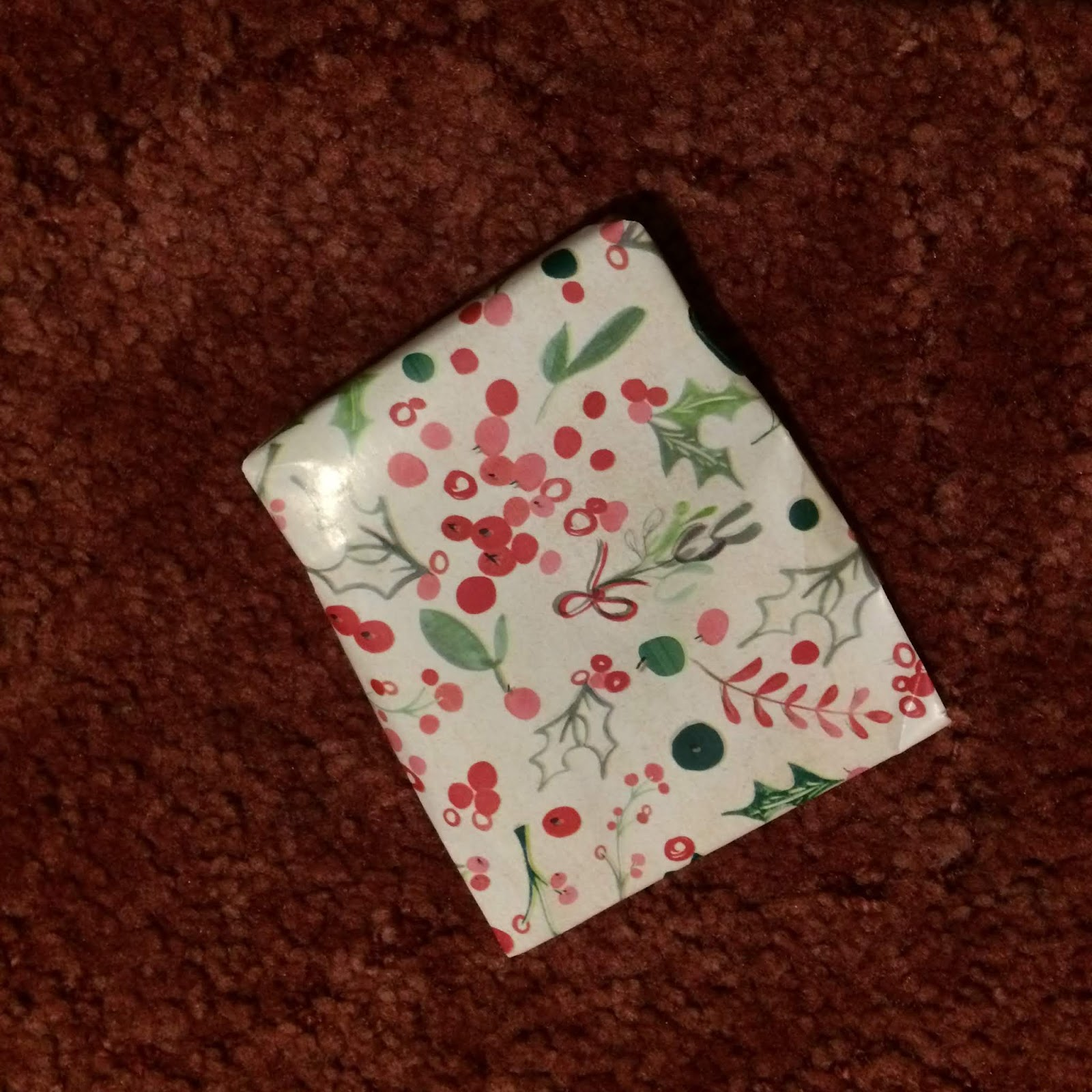 Wrapped present, no tag
