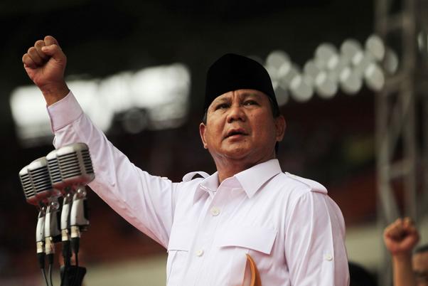 Prabowo Minta Jokowi Bebaskan Segera Aktivis yang Dituding Makar