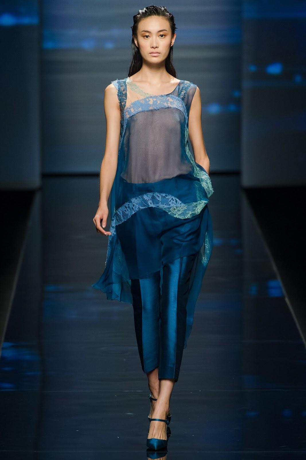 Alberta Ferretti Rtw Spring 2013 Milan Fashion Week