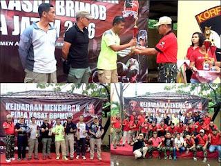 Mantap Prajurit Pasmar -1 Unggul Di Dalam Kejuaraan Tembak Kasat Brimob Polda Jatim 2016 - COMMANDO