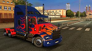 Optimus Prime skin for Kenworth T800