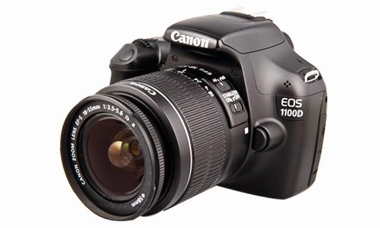 Harga dan Spesifikasi Camera DSLR Canon EOS 1100D Baru