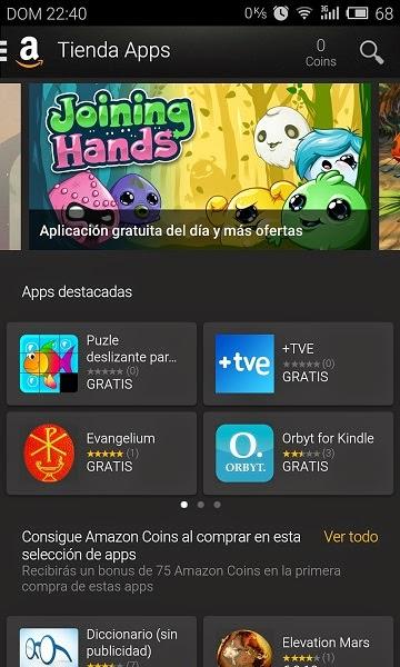 YoAndroideo.com: Tienda de Apps de Amazon y sus apps gratuitas de pago