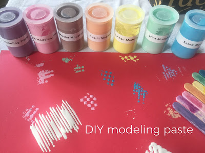 Colored Modeling Paste Hack